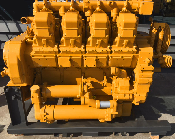 Reconditioned engine Caterpillar 3508 available for immediate sale.